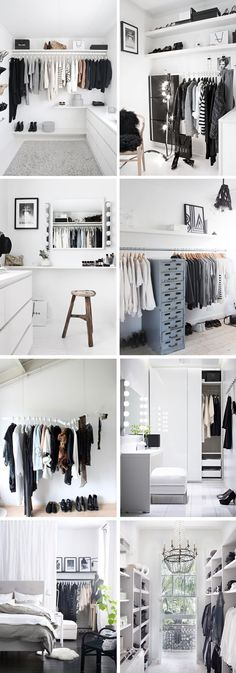 Wardrobe inspiration (Diy Closet)