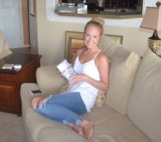 At home teeth whitening!