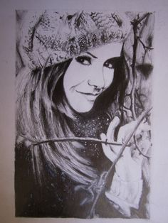 vampire diaries drawing elena gilbert dobrev nina drawings poster pencil salvatore stefan mystic delena falls