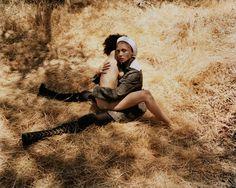 Adwoa Aboah wears All clothing Prada. Photography Harley Weir i-D