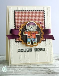 Happy Fall Scarecrow - SU - Cookie Cutter Halloween, Labeler Alphabet - Autumn