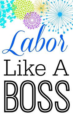 "Labor like a boss - The ""Motherload"" of information from a very experienced birth doula on how to give birth like the boss you are. Birth Doula, Baby Birth, Baby Baby, Getting Ready For Baby, Preparing For Baby, 5 Weeks Pregnant, Birth Affirmations, Pregnancy Labor, Natural Birth"
