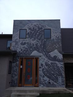 Image result for murals on house exterior