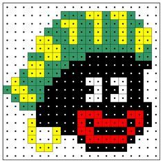 Zwarte Piet - strijkkralen