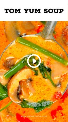 Indian Food Recipes, Asian Recipes, Healthy Recipes, Simple Soup Recipes, Hot Soup Recipes, Thai Hot And Sour Soup, Spicy Thai Soup, Thai Tom Yum Soup, Spicy Thai Noodles