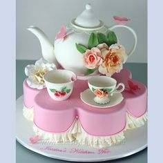 Another unbelievable tea party cake!