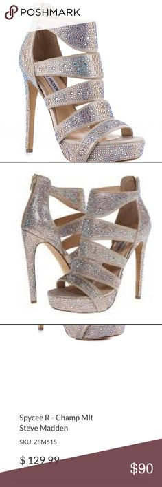 Steve Madden Spycee R in Champagne Sold Out Online