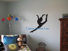 Dance Decal Vinyl Wall lettering Quote  by JaneyVinylArt on Etsy, $24.00