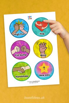 Morning Greetings Chart for Preschool - Box of Ideas