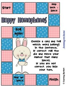 This site is ideal for an elementary teacher that is teaching homophones. I want to be an elementary teacher and I think by using a game it would help the kids get more involved in the learning.