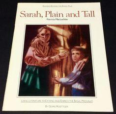 Sarah Plain and Tall Literary Unit Study Guide homeschool teacher resource #WorkbookStudyGuide