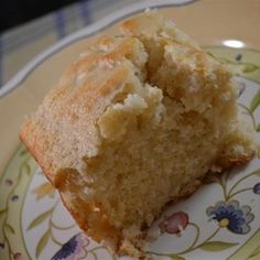 """Cornbread Made with Coconut Oil 