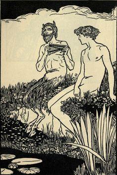 Illustrations, Illustration Art, Satanic Art, Gay Art, Green Man, Gravure, Mythical Creatures, Art Inspo, Demons