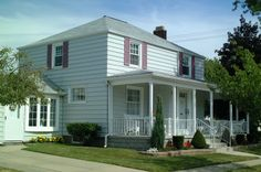 Ivy Lea Construction are the top vinyl siding installation contractors in Buffalo and all of western NY. Vinyl Siding Installation, Siding Contractors, Exterior Siding, Roof Repair, Roof Design, Ivy, Construction, Mansions, House Styles