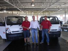Congratulations to Clisa4 and Megaframe with the purchase of their K2700 in November 2014. Thank you to Jaco Booysen who made this possible. Welcome to the Kia Family.