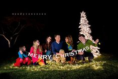 Fun family Christmas portrait! :)