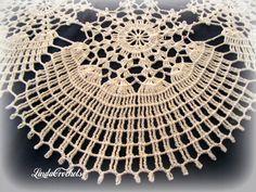 Linda Crochets: Winter wonderland Doily