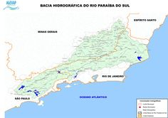 bacia paraiba do sul - Buscar con Google