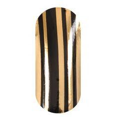 KOOKY Barcode Black & Gold Wraps
