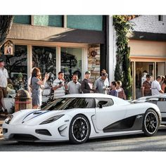 White Koenigsegg agera- Out of this world!