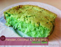 Pandan Mochi Cake
