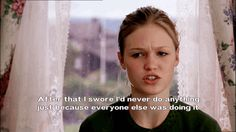 Julia Stiles. 10 Things I Hate About You.