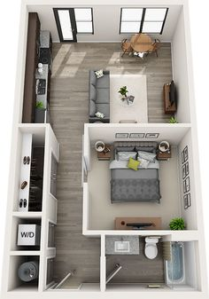Sims House Plans, House Layout Plans, Small House Plans, House Layouts, House Floor Plans, Bedroom Floor Plans, Small Apartment Layout, Apartment Design, Small Apartments