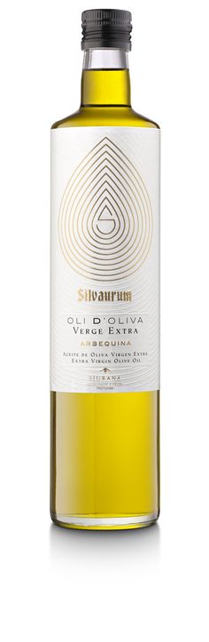 Hot foil stamp, emboss | Silvaurum Olive Oil by PAGÀ DISSENY
