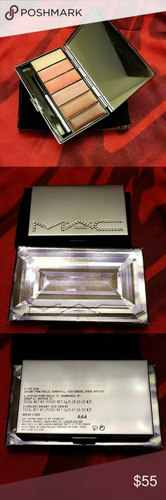 MAC Swarovski Gem Jeweled 6 Lips Purple Palette Brand new in box MAC Cosmetics Makeup Lipstick