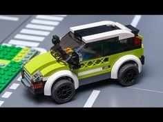 How to build LEGO City MOC !  4x4 off road car free tutorial. - YouTube