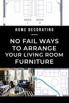 Learn to make the best use of your space with these furniture arrangement tips and living room layouts.even if it has a fireplace and a TV. arrangement around fireplace Living Room Layouts and Furniture Arrangement Tips Living Room Photos, Living Room Mirrors, Living Room Sets, Rugs In Living Room, Living Room Decor, Curtains Living, Wall Mirrors, Moving Furniture, Furniture Layout