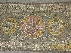 ottoman embroidery   ... Bindalli Turkish Ottoman Velvet Metallic Embroidery Gown Wedding