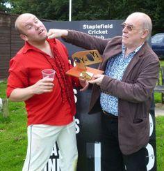 In 2011 I presented Bob with his Malcolm Hardee Award