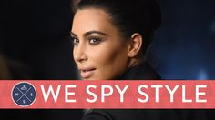 We Spy: Kim Kardashian Strips Down to a Furkini - Styled by Kanye!: We Spy Style is back and better than ever!