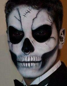Wayne's look for halloween night.