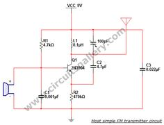 Joys blog 2km fm transmitter circuits diagram with pcb fm most simple fm transmitter circuit diagram gallery of electronic circuits and projects providing lot of diy circuit diagrams robotics microcontroller ccuart Images