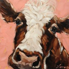 'Sally' cow portrait .... love this