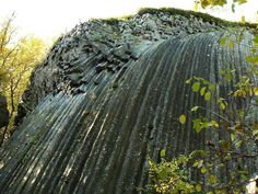 Kamenný vodopád a kamenné more in Šiatorská Bukovinka Rarity, Cactus Plants, Waterfall, Waves, Fire, Mountains, Landscape, World, Outdoor