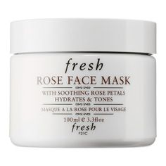 Fresh - Rose Face Mask #sephora -- This looks really interesting! I must try!!