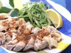 ゆで鶏のアジアンソースの画像http://cookpad.com/recipe/2589159