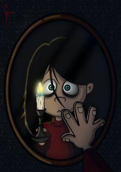 Pandora in the mirror.