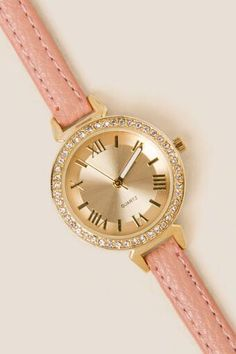 Mirabel Crystal Watch