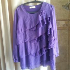 Purple Clifton blouses Blouse fit for size 12 Tops Blouses