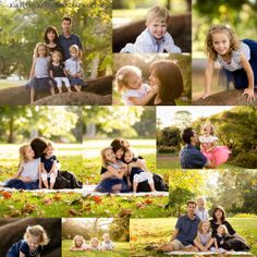 Navy, blue and white - Early Autumn Family Session. Family of five photo session.