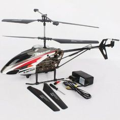 Wifi Control 3.5 CH HD Camera RC Helicopter Gyro for iPhone/iPad/iPod by TOMTOP. $25.00. Remote control battery: 6pcs 1.5V AA batteries(not included). Product battery:3.7v 1100mah Li-battery (included). Charging time: 160-180 minutes. Remote distance: 20-40 meters. Flight time: 5-7 minutes. Function:  Apple mobile phone using WIFI network operating aircraft, up/ down, turn left / right, forward / backward. (built-in gyroscope 360 ° accurate positioning), the fuselage with a cam...