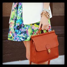 I love this bag, but I would not pair it with this outfit.  ~ETS