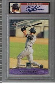 2001 TOPPS RESERVE BRAD CRESSE GRADED AUTOGRAPHED CARD LQQK . $4.99. AUTOGRAPHED AND GRADED BY PSA . CAME IN PACKS,BRAD CRESSE  PLEASE CHECK SCAN ,THANK YOU