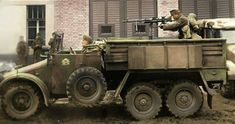 Hungarian Forces - Krupp vehicle in Hungarian army. Army Vehicles, Armored Vehicles, Military Photos, Military History, Tiger Tank, War Dogs, Ww2 Tanks, Military Equipment, Hungary