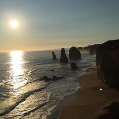 This picture would be so perfect if it wasn't for that annoying white dot on the bottom right!  You get the idea though haha  #12apostles #twelveapostles #Sunset #sun #beautiful #nice #sea #ocean #Waves #tide #Beach #tourist #scenery #scenic #view #greatView #travelling #travel #landscape #coast #dusk #evening #eveningSky by craigwells1987 http://ift.tt/1ijk11S