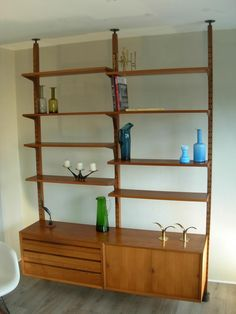 Fantastic danish modern Cado unit. When I have my own home, I want this!!!